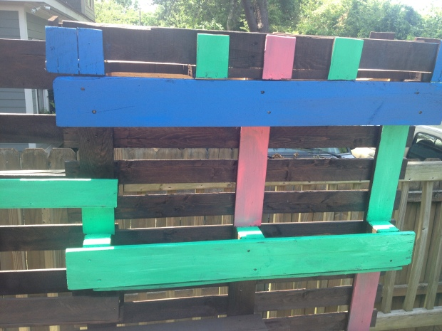 We added paint to make the boxes pop! Plus, more color = Happy Jennie!